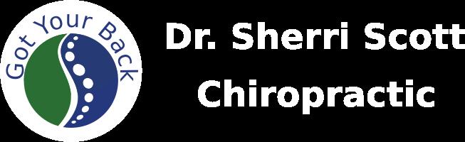 Dr. Sherri Scott, Chiropractor Retina Logo